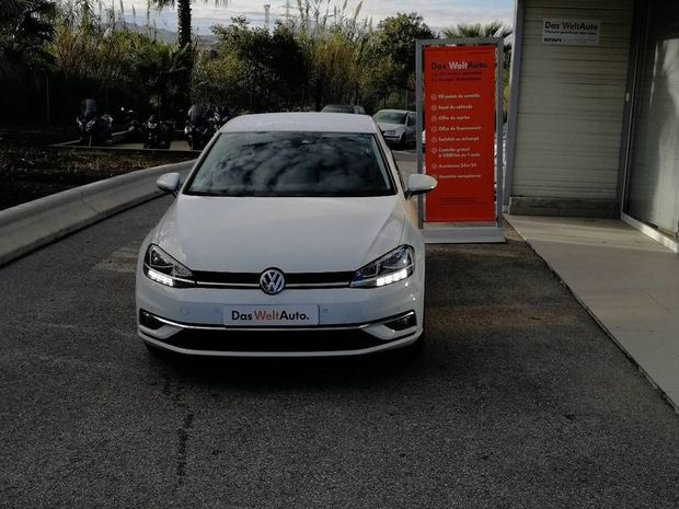 Photo miniature de la Volkswagen Golf 1.0 TSI 110 BlueMotion Technology Sound 2018 d'occasion
